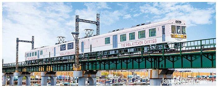 Rail Kitchen Chikugo on the move