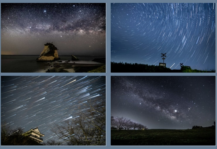 Isumi is famous for its starry night skies