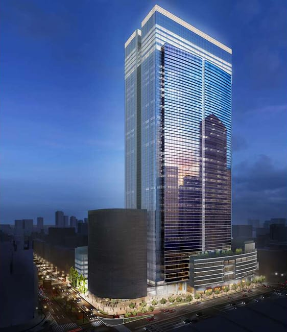 The Tokyo Midtown Yaesu Building will be completed by 2022
