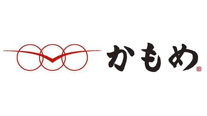 The new logo and the name Kamome written in Japanese calligraphy