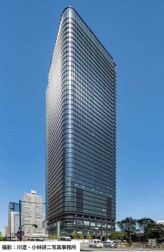 Tokiwabashi Tower opened in July, 2021